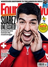Suarez was speaking to FourFourTwo magazine, out on March 5
