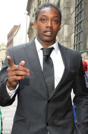 Nile Ranger pictured outside court in April last year
