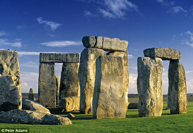 Singing stones: Bluestones from the Preseli hills in south Wales, from where Stonehenge's monoliths are thought to have originated, have an 'exceptional sonic nature', say researchers from the Royal College of Art