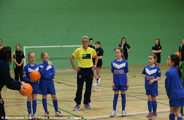 Listening intently: Duggan will be hoping to impress along with her England teammates in the Cyprus Cup