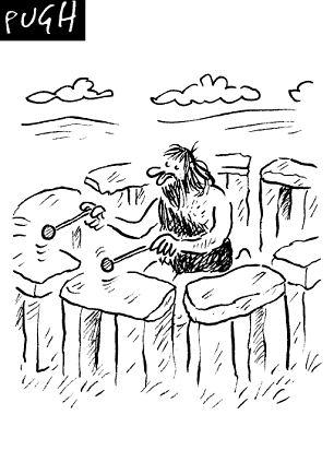 Pugh imagines a musical stonehenge