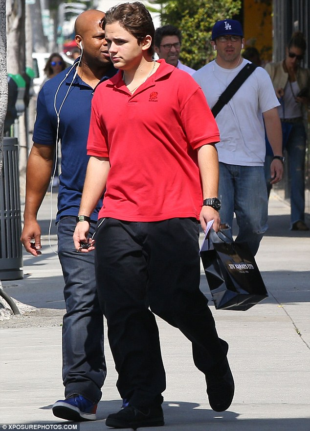 Shop 'Til You Get Enough! Prince Jackson steps out after shopping for jewelery in Beverly Hills