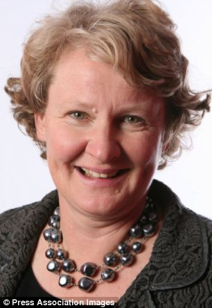 Labour MP Helen Goodman accused the Tory party of accepting donations from dicey Ukrainians and thus being compromised