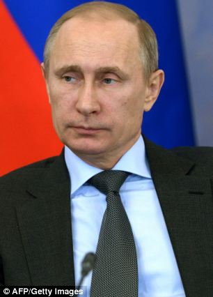Our elected legislature did not rise up to protest as one about Vladimir Putin's land grab in the Ukraine