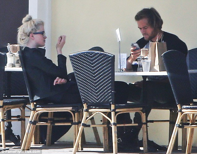 Lunch date: The lunch came after Ireland's busy evening at the Oscars on Sunday evening