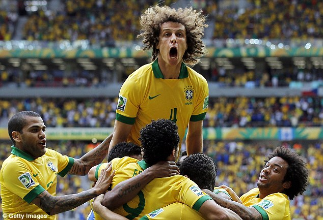 Warm-up: Brazil will be hoping for a good performance against South Africa ahead for World Cup 2014