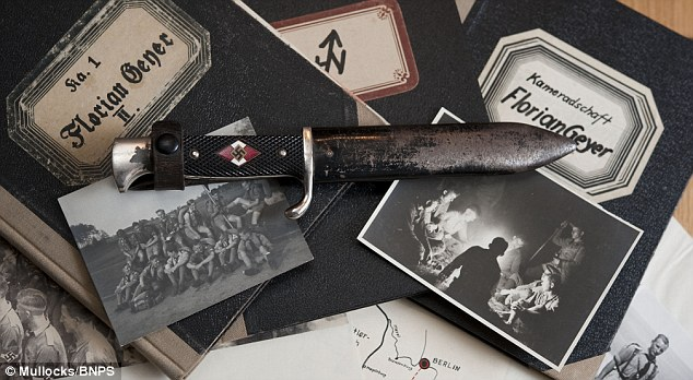 Nieboy's dagger is a far cry from a simple penknife the British Boy Scouts would have used