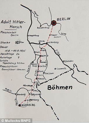 Nieboy's incredibly detailed map of a march to Berlin