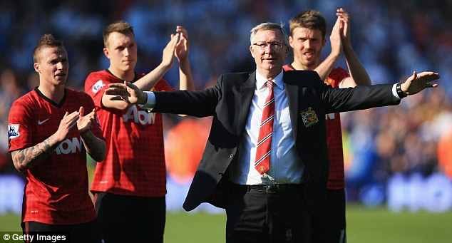 Day to remember: Last season's 5-5 draw at the Hawthorns was Sir Alex Ferguson's last game in charge of Manchester United before retiring from management