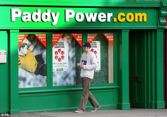 Complaints: A change.org petition calling for Paddy Power to pull the advert garnered more than 120,000 supporters