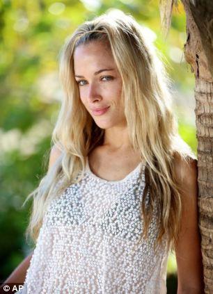 Tragic: Prosecutors allege Pistorius shot model Reeva Steenkamp through the bathroom door at his home on Valentines' Day in 2013