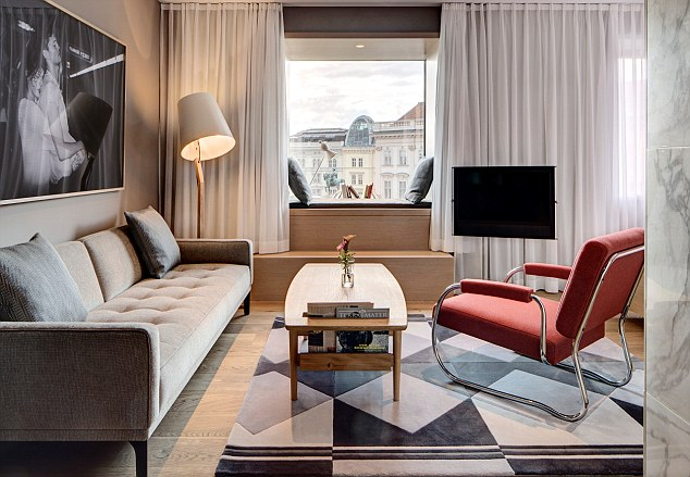 A blast of the new: The Guest House adds a dash of the modern to the Viennese imperial template