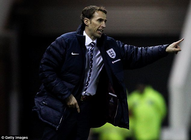 In control: Gareth Southgate's England are six points clear at the top