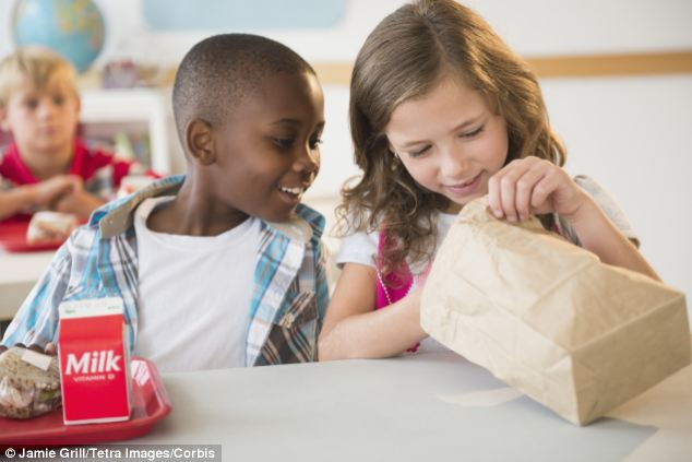 Stories of black-market snacks abounded in the fall of 2012 as kids began streaming toward the cafeteria exits in favor of brown-bag lunches