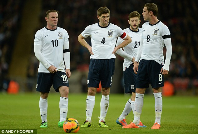 Any ideas? England looked as though they were struggling for creativity for much of the game