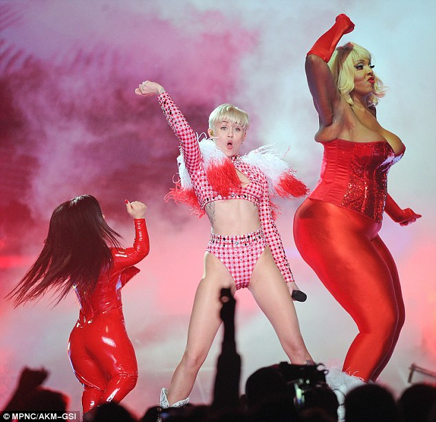 Hello Nebaska! The We Can't Stop singer will next take her Bangerz Tour to the CenturyLink Center in Omaha with opening act Icona Pop on Thursday night