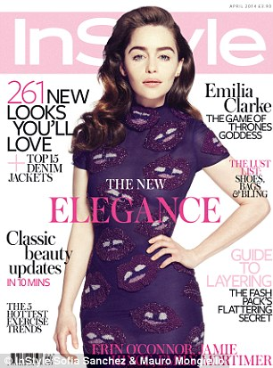 To read the feature in full, see the April issue of British InStyle, out today