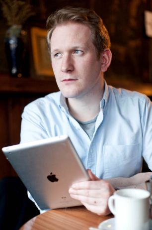 Josh Grant, 26, pictured, was shocked when Apple asked for written consent from his mother, who passed away from breast cancer earlier this year, to unlock her iPad
