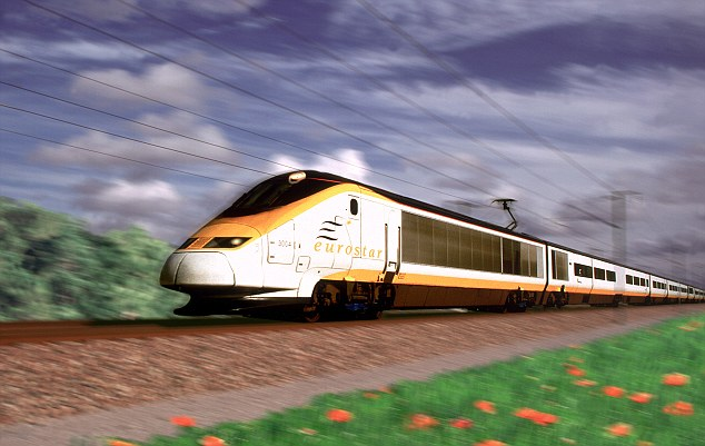 Winning figures: Eurostar, which celebrates its 20th anniversary this year carried 10.1 million passengers in 2013