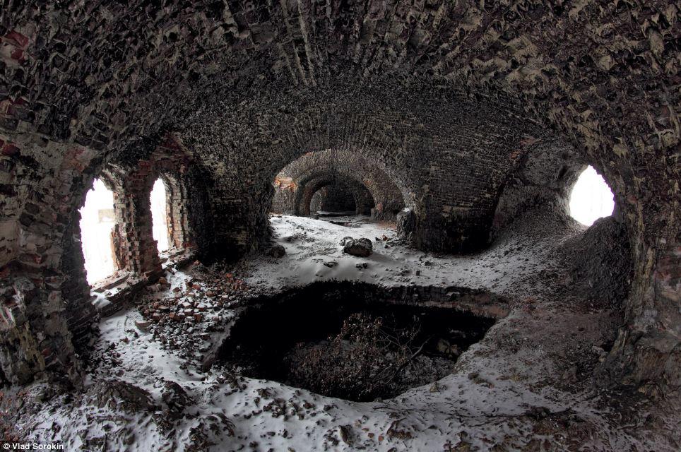 Derelict: The fort was built in the 1870s by Russian engineer Konstantin Zverev