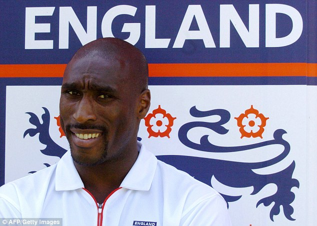 Claims: Sol Campbell claimed he did not become a regular England captain because he is black