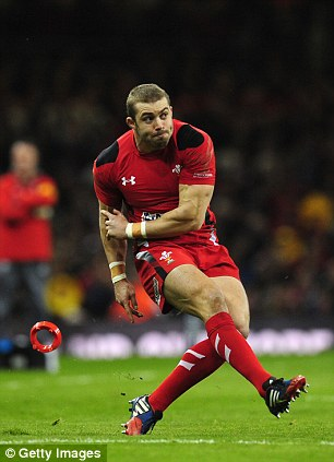 Hot property: Warburton says that Leigh Halfpenny has attracted all the attention in Wales