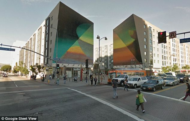 Drama: The incident happened at Wilshire and Vermont in the city's Koreatown neighborhood