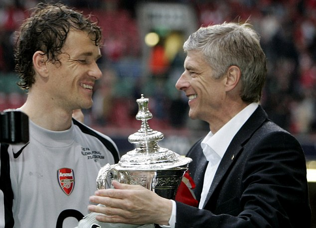 Remember me? Arsene Wenger's Arsenal team have a good chance to get their hands on the FA Cup trophy for the first time since 2005