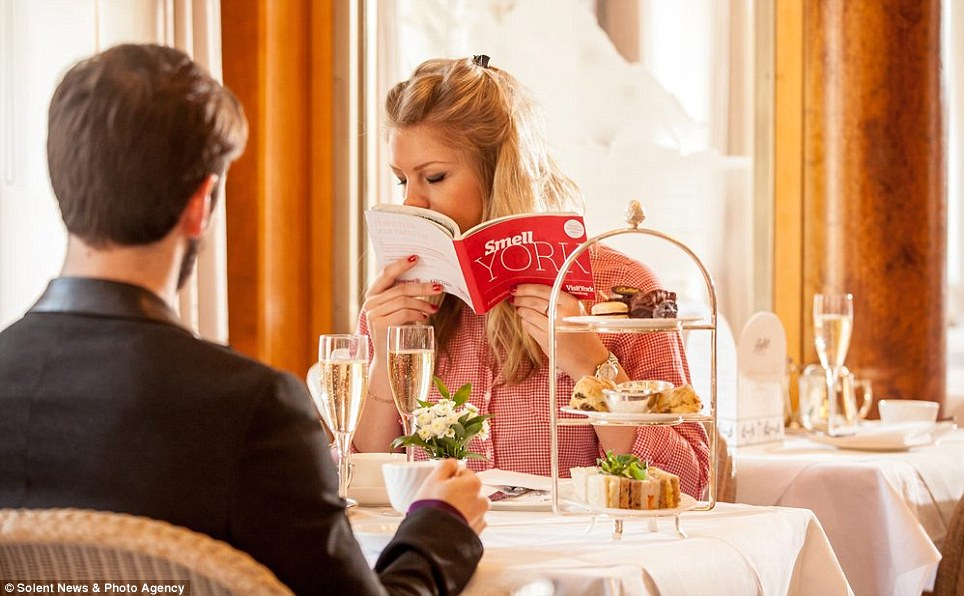 Good enough to eat: The sweet smells of York's chocolate heritage and its traditional afternoon tea are also included