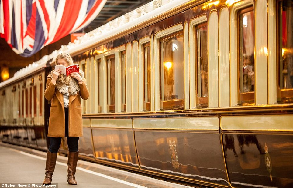As if you were there: From its railway history to afternoon tea, the book combines a host of iconic scents