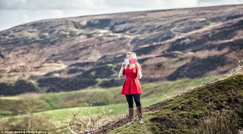 The hills are alive: Beyond the city, the smell of the moors and Yorkshire Dales are also included in the book