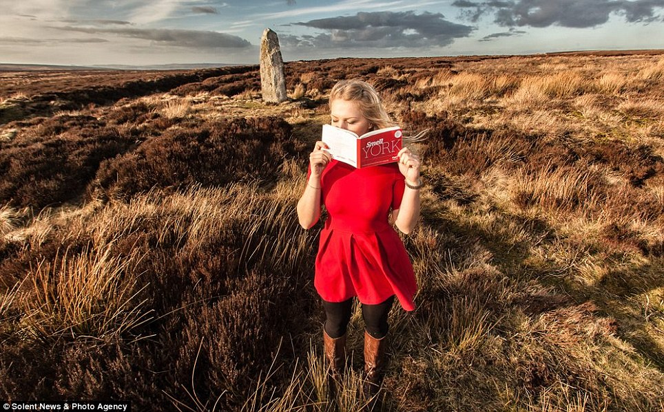 Makes scents: The quirky guidebook highlights the most iconic smells associated with York and Yorkshire