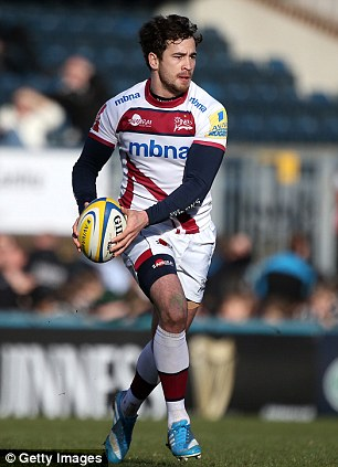 Integral cog: Cipriani has played a vital part in Sale's attempts to secure Heineken Cup rugby next season