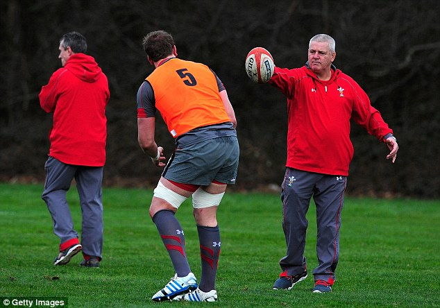 Eyes on the prize: Warren Gatland is hoping to repeat last year's victory over England