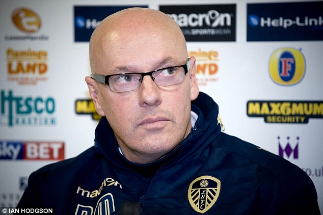 Under pressure: Brian McDermott's future as Leeds' manager remains uncertain following recent upheaval
