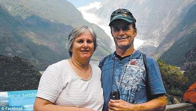 Globetrotters: Catherine and Robert Lawton, from Brisbane, were named as one of three couples from Australia who were missing