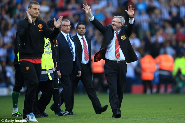 Going out in style: United fans could celebrate another Premier League title win despite the 5-5 draw in May