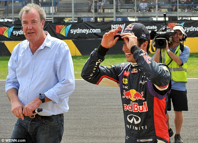 Top Gear Down Under: Jeremy Clarkson is in Sydney filming his show at the Top Gear Festival