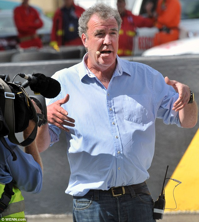 Back in Australia: Jeremy Clarkson allegedly vowed never to come back to Australia but he's now filming in Sydney