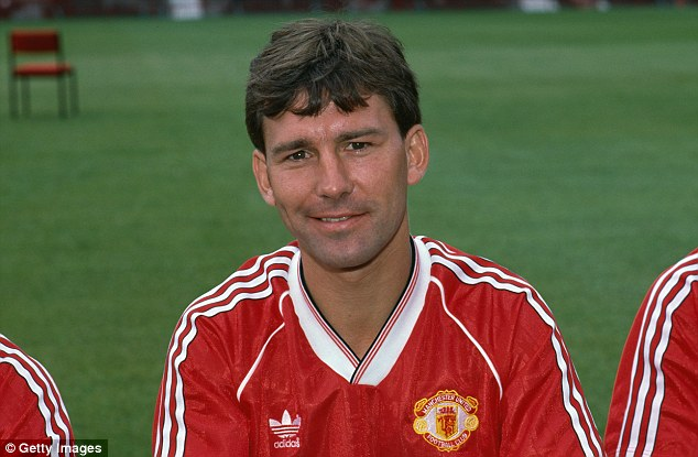 Legend: Robson is a hero at Old Trafford and wants the current players to step up their game