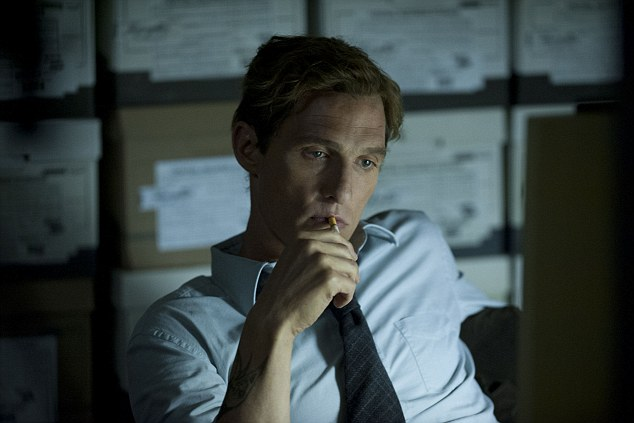 Matthew McConaughey's performance as detective Rustin Cohle is even better than his Oscar-winning turn in Dallas Buyers Club. His speeches about the deluded belief that our lives have any meaning are poetically bleak