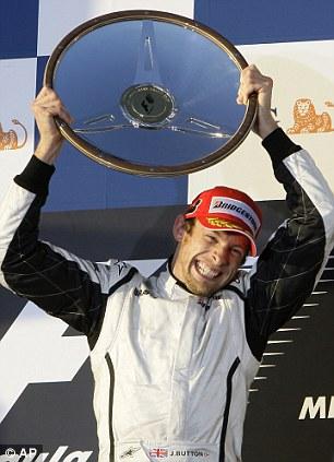 Winner: Button in Australia back in 2009