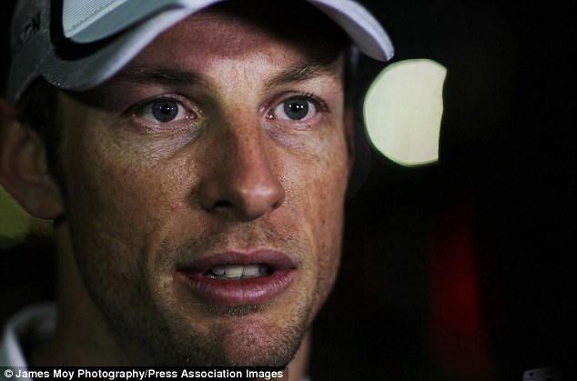 New year: Jenson Button has endured a difficult winter following the passing of his father John in January