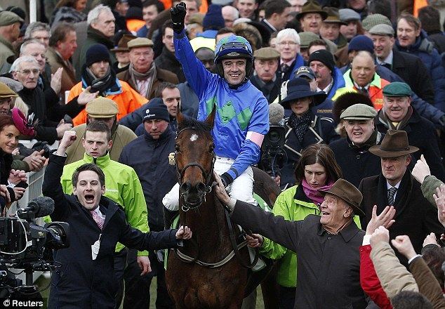 The Champion: Hurricane Fly will face eight rivals as he bids for a third Champion Hurdle success