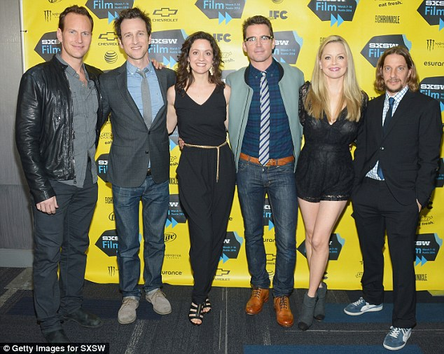 Teamwork! Actor Patrick Wilson, director/co-writer Jack Plotnick, actress/co-writer Kali Rocha, actors Matt Bomer and Marisa Coughlan, and co-writer Michael Stoyanov attended the Space Station 76 premiere