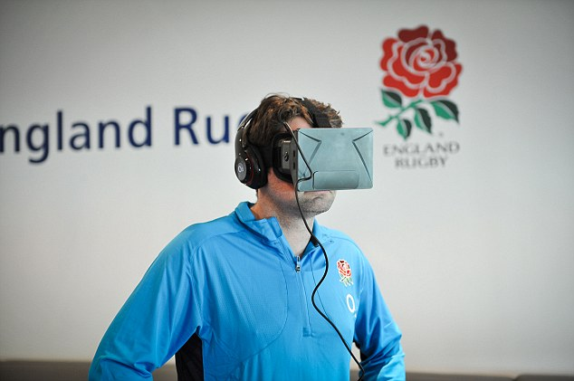 In the battle field: One intrepid journalist prepares to take on a virtual tackle from Billy Vunipola
