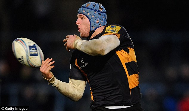 Flanker: Haskell currently plays for London Wasps in the Aviva Premiership