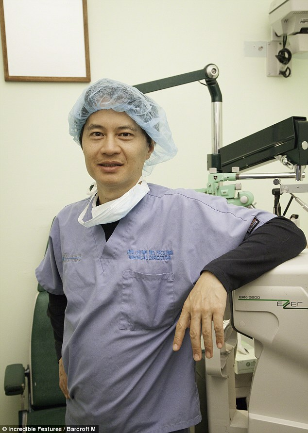 When Dr. Emil Chynn isn't putting hearts in women's eyes he's looking for love on the show Millionaire Matchmaker