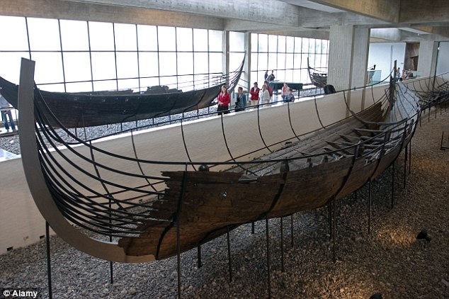Shipshape: A longship at the Viking Ship Museum in Roskilde, which was the capital of Denmark during the Viking Age between the late 8th and 11th Centuries