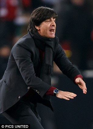Name in the frame: Germany coach Joachim Low